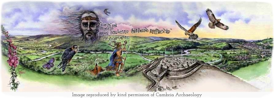 Merlin's Hill illustration (by kind permission of Cambria Archaeology)