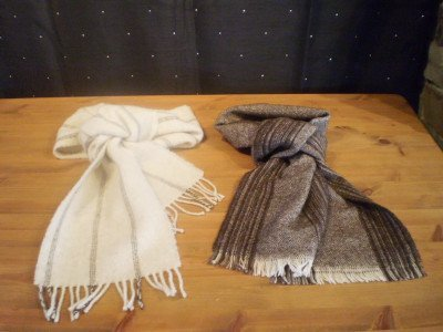 Merlin's Hill wool scarves